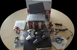 Playstation 3 Bundle (console, controllers, 19 games & Disney Infinity