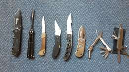Pocket knives (Penknives) and Multi-tools For Sale