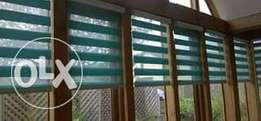 Wallpaper and Window blind installation
