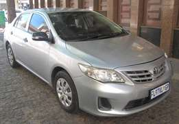 2011 Toyota Corolla 1.3 Professional / Great Condition/ R74999 Neg
