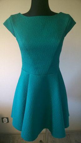 f93b725d5a Zielona rozkloszowana sukienka RYŁKO r. M wesele Siemianowice Śląskie -  image 1