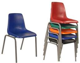 Polysheel and Stacker chairs