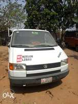 Very clean and neat Volkswagen Transporter truck for sale.