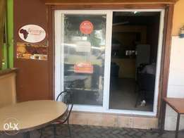 Restaurant on sale with everything inside