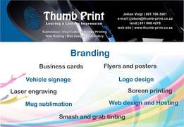 Branding and Signage (Bargain Prices, Pre Easter Specials)