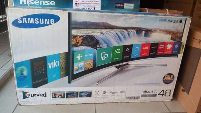 "Samsung 48"" smart curved TV series 6300 Nairobi CBD - image 1"