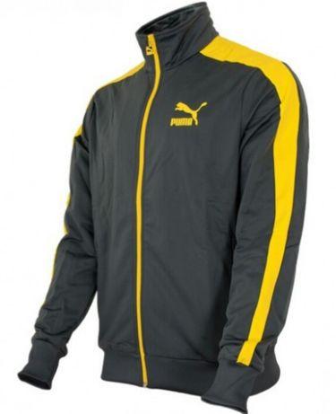 Nowa bluza Puma Heroes t7 track jacket Archive dark shadow