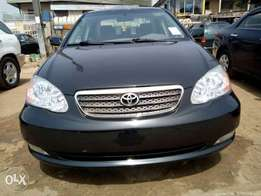 Fresh tokunbo 2007 corolla accident free available