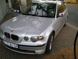 2002 BMW 318ti, 5 speed manual.