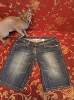 Шорты Капри джинсовые новые бриджи фирменные с драконами c470e0ccc0e90