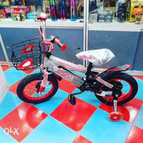 "14"" bicycles for sale red & black for sale good quality limited stock"