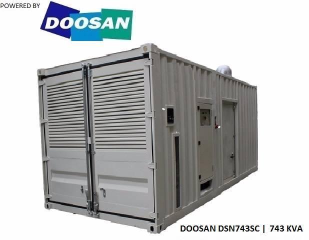 Doosan Dp222lb - 743 Kva - Sns1029 - 2017