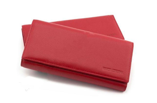52da36af4512 Женские кошелек на магнитах с блоком для карточек красный и черный. Киев -  изображение 1