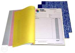 Operation Book Printing(Receipt book/Delivery/Invoice)
