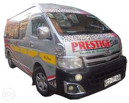 Clean Toyota Hiace 9L priced to go at 2.85m