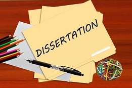 PASS and graduate – thesis, dissertation