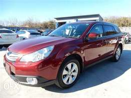 2009 Subaru Outback red fresh import low mileage