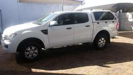 2015 Ford Ranger 2.2TDCI XLS 4x4 p/u d/c with canopy