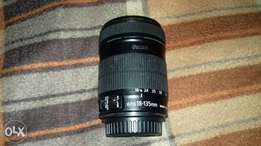 Canon lens 18-135MM, working good.