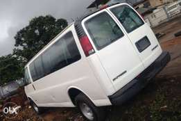 Tokunbo clean Chevrolet express bus