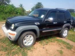 Tokunbo Liberty jeep sport