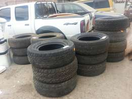 285/65R17 Dunlop Tyres Good used quality