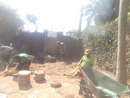 Driveway doctor , Durban . Construction services