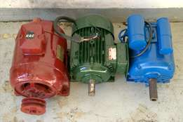 Induction Motor x 3