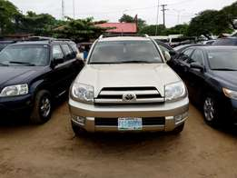 First Body and neatly used Toyota 4Runner, 2005 Model.