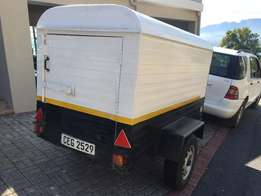 2017 Van body trailer - good condition