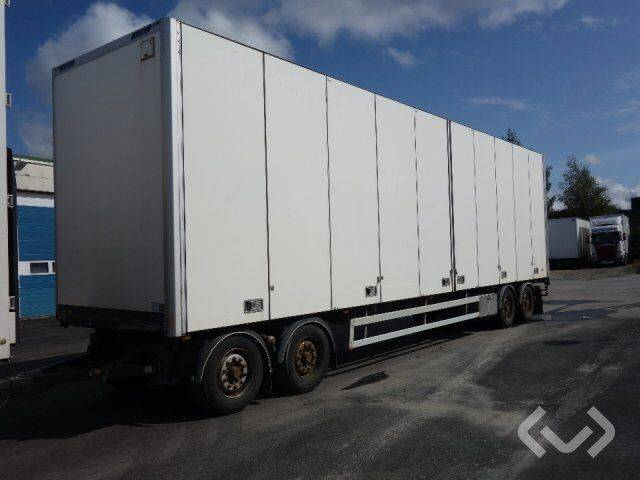 Närko D4HB13L61 4-axlar Box Trailer (side doors) - 09 closed box - 2019
