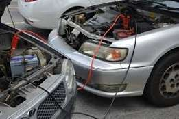 Car Jumper cable, jump start, booster