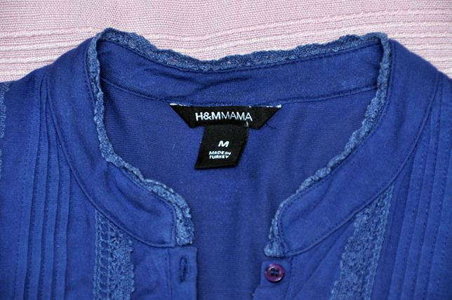 54d10a43b9 H M MAMA- bluzka ciążowa bawełna