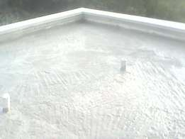 we offer the best waterproofing solutions on flat/top roofs.