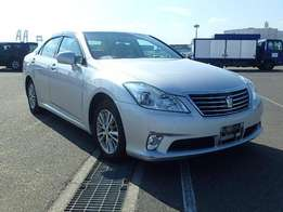 Toyota Crown, Silver 2010