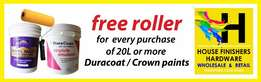 New offer on 20L Crown and Duracoat paint