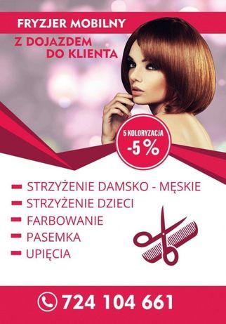 Fryzjerka Mobilna 7 Dni W Tygodniu Koszalin Olxpl
