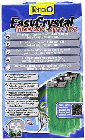 Tetra Easy Crystal filter 3 piece per pack c 250 / 300