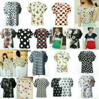 Cute Chiffon blouses for ladies