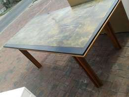 Dining table, hand made