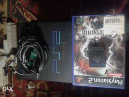 Second hand PS2 plus 1 game