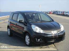 Nissan Note Year 2010 Model 2WD Automatic Transmission Black KCN