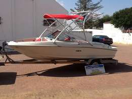 2008 Sea Ray 175 with inboard Mercruiser 3.0 and Alpha one drive Excel