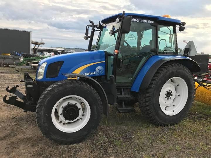 New Holland T5050, F-lyft - 2008
