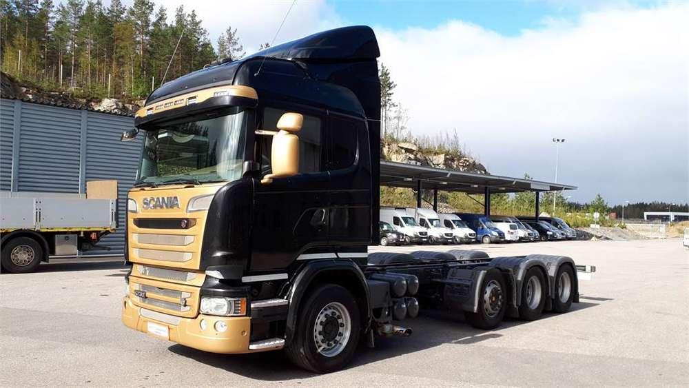 Scania R730 8x4/4 Alusta - 2016 for sale | Tradus