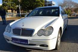 2002 Mercedes C180K in good condition