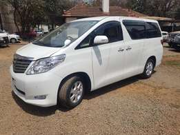 for sale toyota alphard fully loaded 2010 model