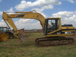 CATERPILLAR 317B excavator for sale