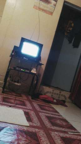 Stand and television, 14inch wegastar in good condition Pipeline - image 3
