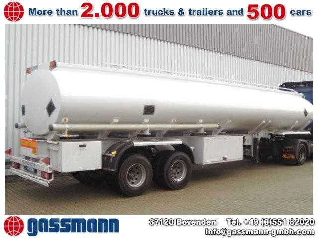 Tankauflieger für Diesel/Öl, 34.560ltr. - 2007
